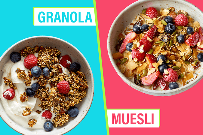 granola và musesli