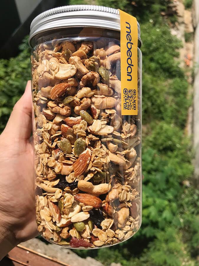 Ngũ cốc yến mạch Granola Mẹ Bé Đan
